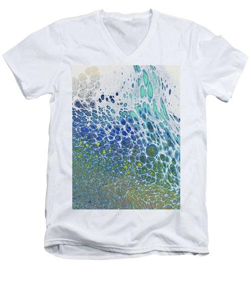 Along The Wish Filled Shore Men's V-Neck T-Shirt