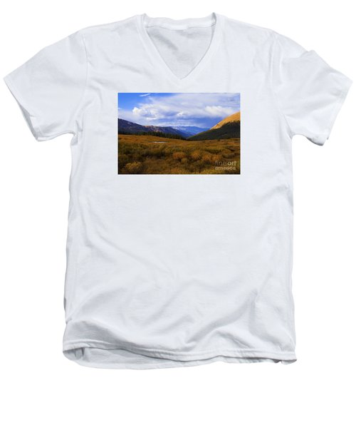 Alpine Pond Men's V-Neck T-Shirt