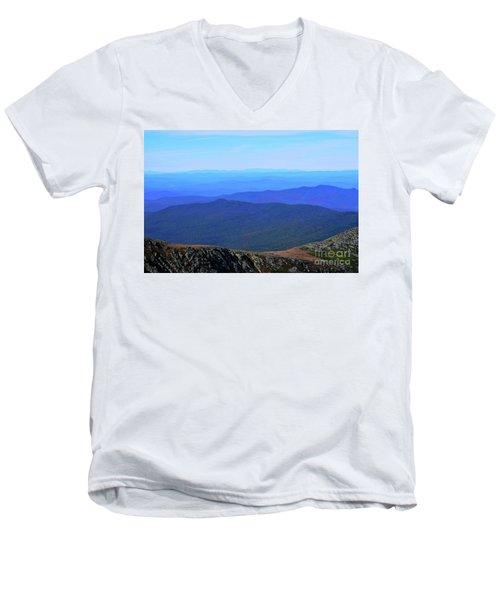 Alpine Tundra Men's V-Neck T-Shirt