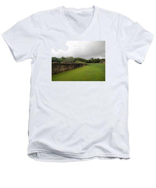 Altun Ha #1 Men's V-Neck T-Shirt by Lois Lepisto