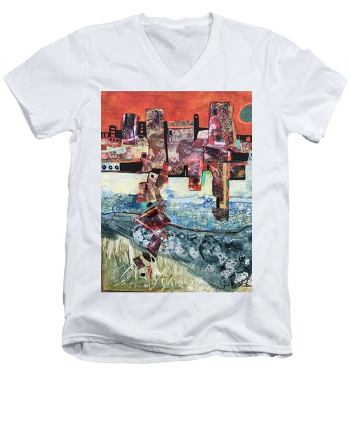 Amazing Places Men's V-Neck T-Shirt