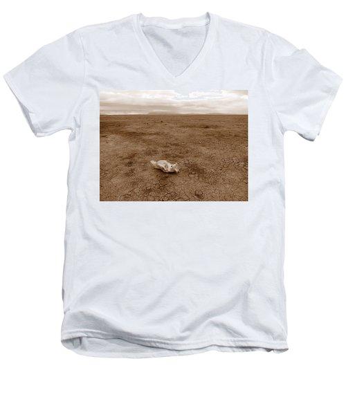 Amboseli Lake Men's V-Neck T-Shirt