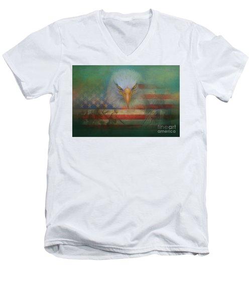 America The Great Men's V-Neck T-Shirt