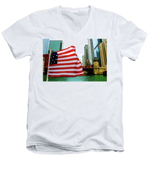 American Chi Men's V-Neck T-Shirt