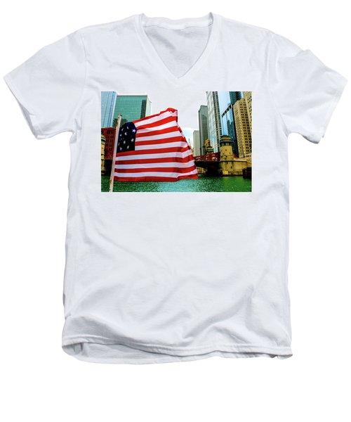 American Chi Men's V-Neck T-Shirt