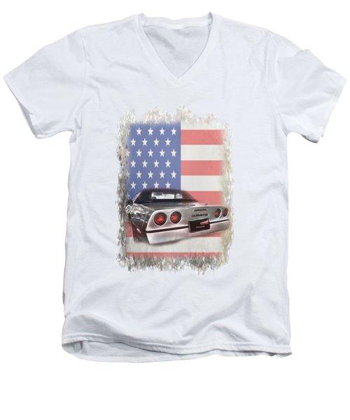 American Dream Machine Men's V-Neck T-Shirt