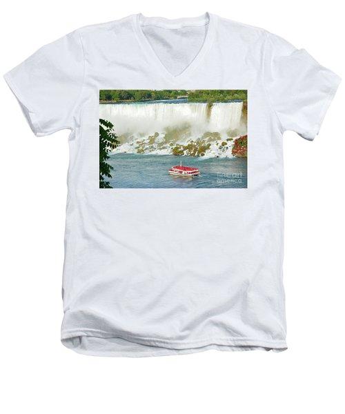 American Falls Men's V-Neck T-Shirt