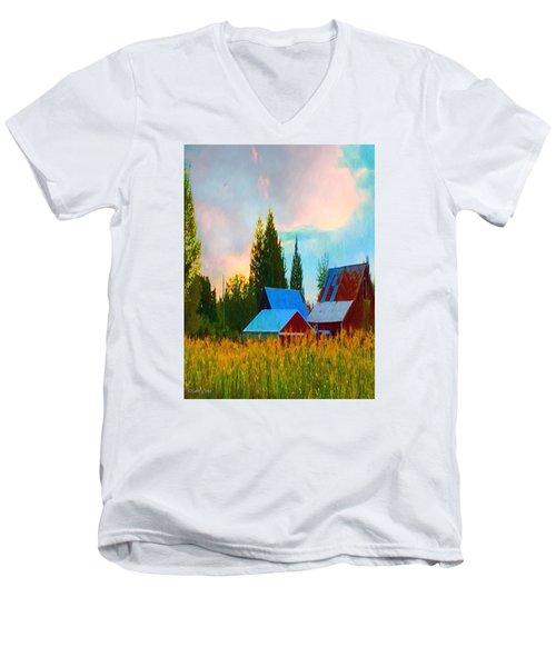 Sweet Corn Men's V-Neck T-Shirt
