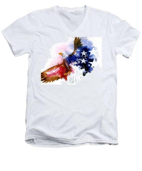 American Spirit Men's V-Neck T-Shirt