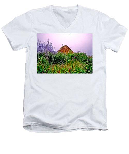 Ameugny 3 Men's V-Neck T-Shirt