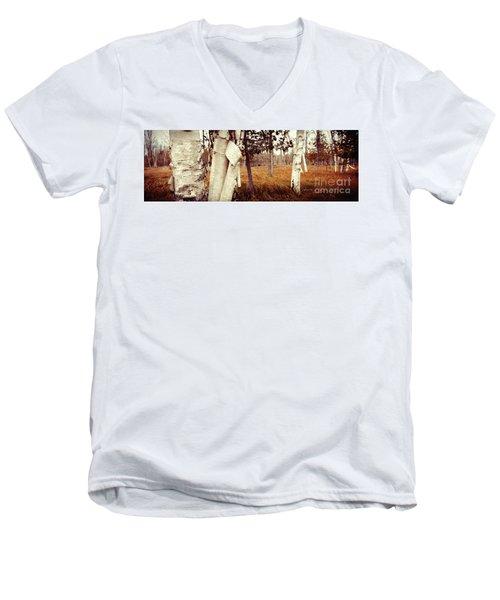 Among The Tall Grass Men's V-Neck T-Shirt