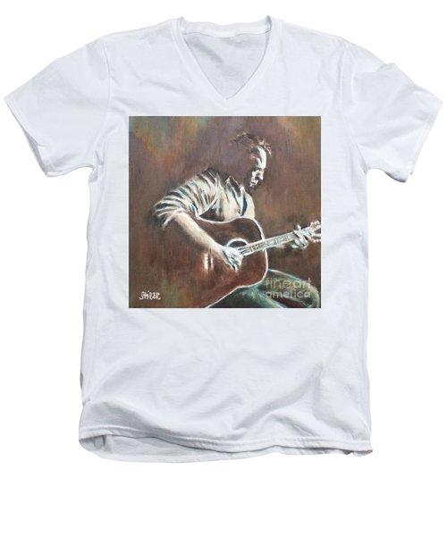 Amos Lee Men's V-Neck T-Shirt