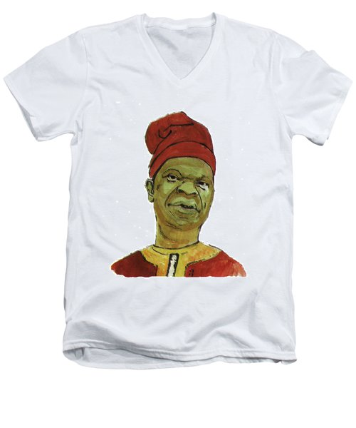 Amos Tutuola Men's V-Neck T-Shirt