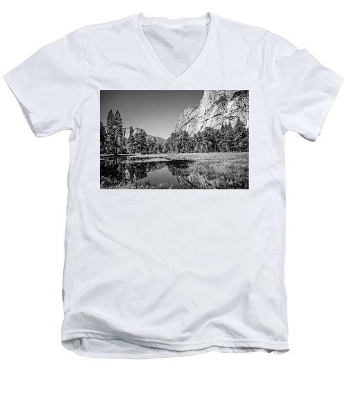 Gamut Men's V-Neck T-Shirt by Ryan Weddle