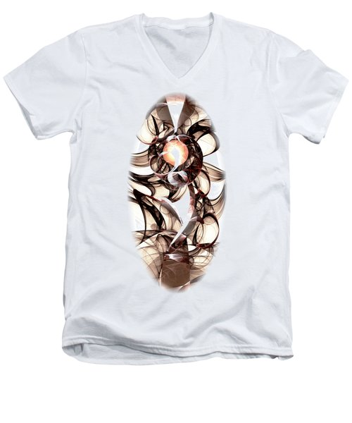 Amulet Of Chaos Men's V-Neck T-Shirt