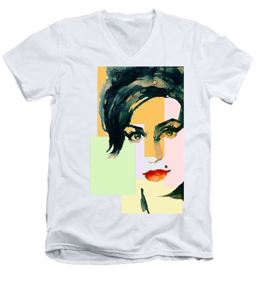 Amy... Love Men's V-Neck T-Shirt