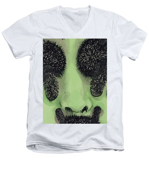 An Alien  Men's V-Neck T-Shirt