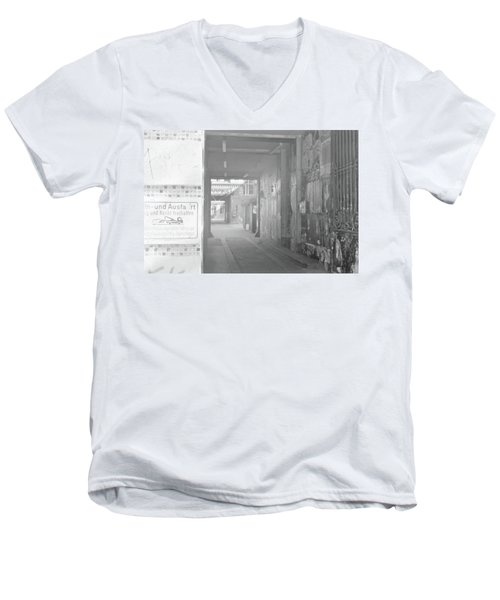 An Alley To A Backstreet Men's V-Neck T-Shirt