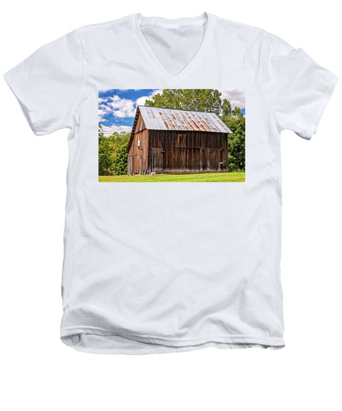 An American Barn 2 Men's V-Neck T-Shirt