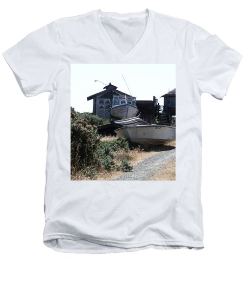 An Island Memory Men's V-Neck T-Shirt