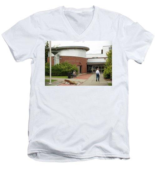 Anacortes Public Library Men's V-Neck T-Shirt