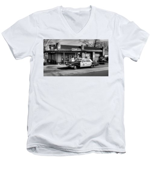 Andy Griffith And Mayberry Men's V-Neck T-Shirt
