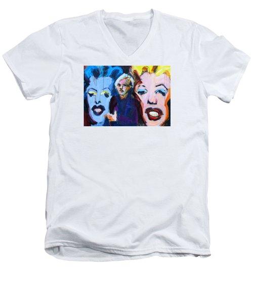 Andy's Monsters Men's V-Neck T-Shirt