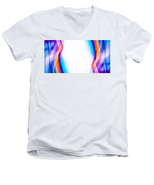 Men's V-Neck T-Shirt featuring the photograph Anesthesia Dreams by TC Morgan