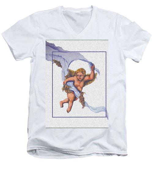 Angel Fresco Men's V-Neck T-Shirt