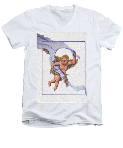 Angel Fresco Men's V-Neck T-Shirt