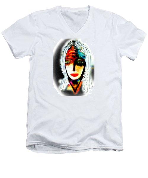 Angie Men's V-Neck T-Shirt