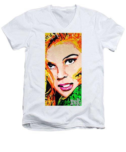 Ann Men's V-Neck T-Shirt