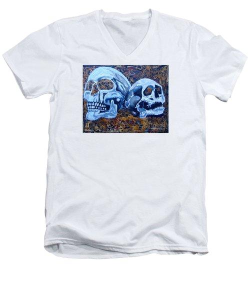 Anniversary Men's V-Neck T-Shirt by Stuart Engel
