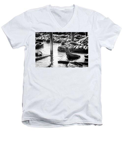 Announcement Men's V-Neck T-Shirt
