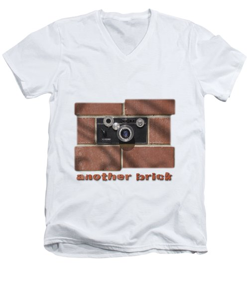 Another Brick . . 2 Men's V-Neck T-Shirt