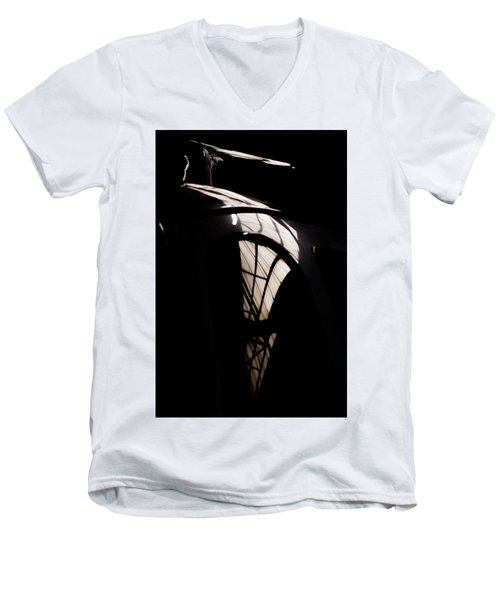 Men's V-Neck T-Shirt featuring the photograph Another Door by Paul Job