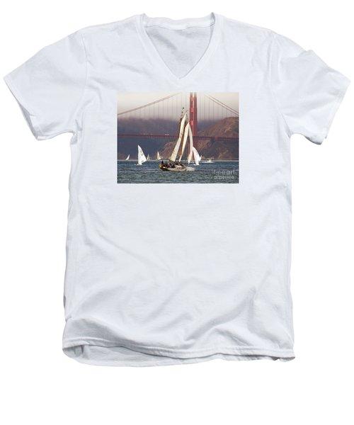 Another Fine Day Men's V-Neck T-Shirt