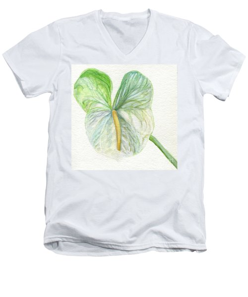 Anthurium Men's V-Neck T-Shirt