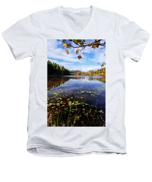 Men's V-Neck T-Shirt featuring the photograph Anticipation by Chad Dutson