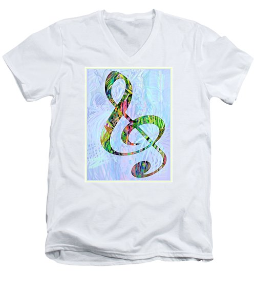 Any Kind Of Music Will Do Men's V-Neck T-Shirt