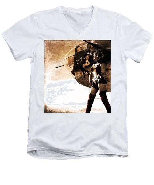 Apocalypse War 1 Men's V-Neck T-Shirt
