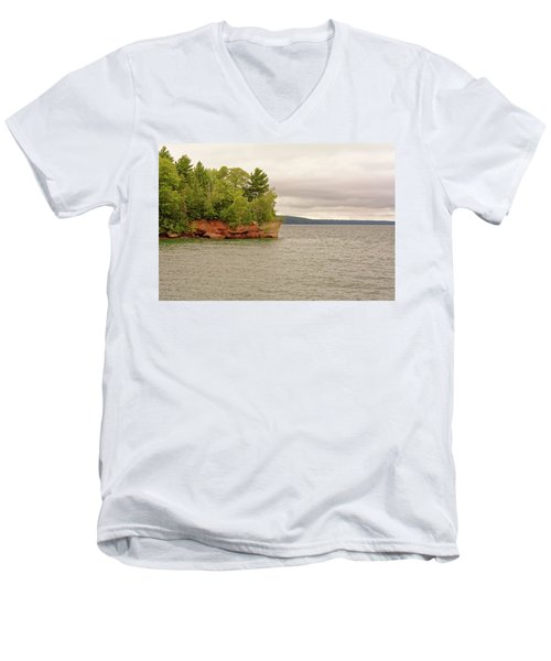 Apostle Islands Men's V-Neck T-Shirt