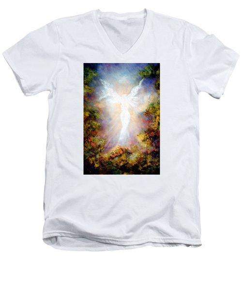 Apparition II Men's V-Neck T-Shirt by Marina Petro