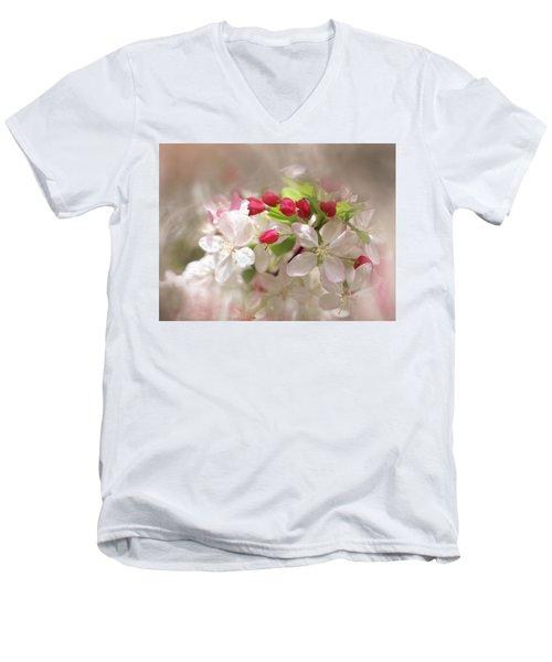 Apple Buds Men's V-Neck T-Shirt