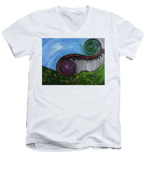 April May June Men's V-Neck T-Shirt