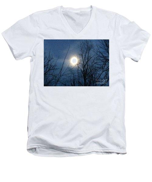 April Moonlight Men's V-Neck T-Shirt