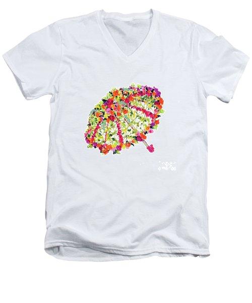 April Showers Bring May Flowers Men's V-Neck T-Shirt