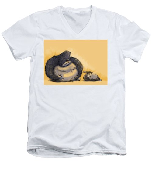 Apz Men's V-Neck T-Shirt