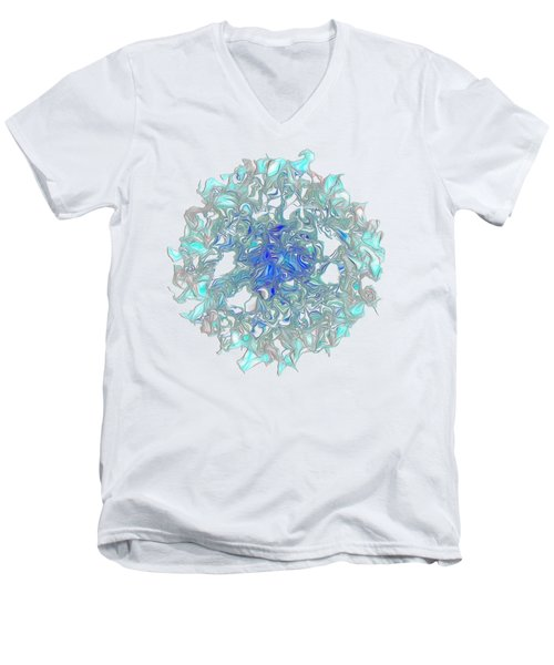 Aqua Art By Kaye Menner Men's V-Neck T-Shirt