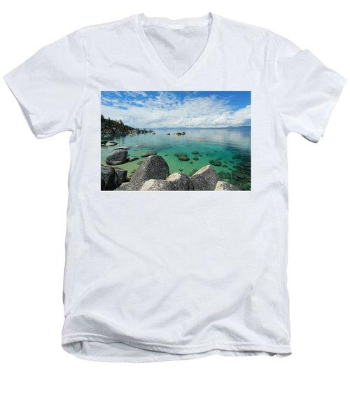 Aqua Heaven Men's V-Neck T-Shirt